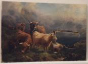 Pastoral With Torn Canvas